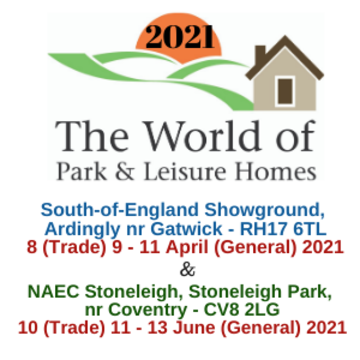 The World of Park & Leisure Home Shows 2020: Exhibiting at Leisure and Hospitality World